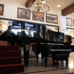 The biggest concert piano in the world is located in Szymbark