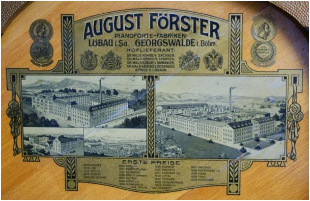 August Förster/ Förster