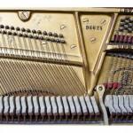 Numer seryjny na ramie żeliwnej pianina